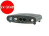DualGig®-2.0 MoCA adapter, 2x Gbit Ethernet over de Coaxkabel