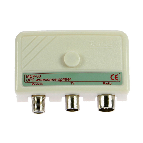CABLE SPLITTER FOR INTERNET AND TV